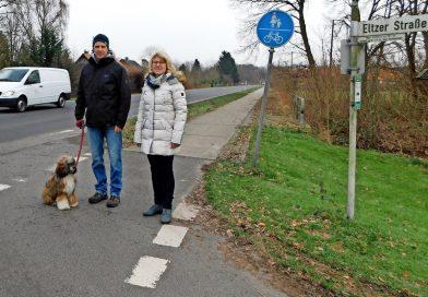 Querungshilfe an B214 geplant: Geteiltes Dorf wird wieder eins. Bundesstraße 214 zerschneidet seit Jahren den Ort – Landesbehörde trägt Kosten in Höhe von 100.000 Euro