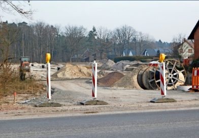 Bauarbeiten ruhen: Frost verzögert Erschließung in Ohof